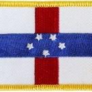 Netherlands Antilles Rectangular Patch