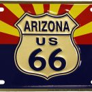 Arizona (Route 66) License Plate