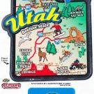 Utah State Map Die Cut Sticker