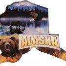 Alaska Acrylic Scenic Magnet