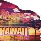 Hawaii Acrylic Scenic Magnet
