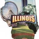 Illinois Acrylic Scenic Magnet