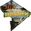 Washington, DC (District of Columbia) Acrylic Scenic Magnet