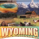 Wyoming Acrylic Scenic Magnet