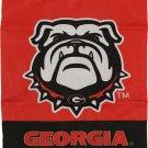 "University of Georgia (Bulldog) - 13""x18"" 2-Sided Garden Banner"