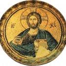 Pantocrator Christ the Ruler Acrylic Magnet (Circular)