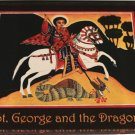 St. George and the Dragon Acrylic Magnet