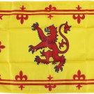 """Scotland - 12""""X18"""" Nylon Flag (Lion)"""