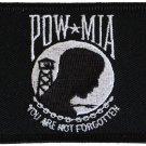 POW-MIA Rectangular Patch (Black Border)
