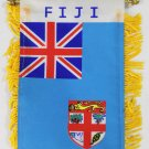 Fiji Window Hanging Flag