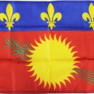 """Guadeloupe (Red) - 12""""X18"""" Nylon Flag"""