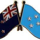 New Zealand Micronesia Friendship Lapel Pin