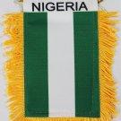 Nigeria Window Hanging Flag