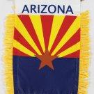 Arizona Window Hanging Flag