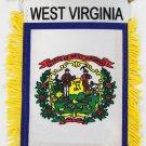 West Virginia Window Hanging Flag