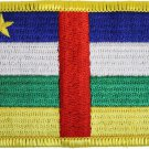 Central African Republic Rectangular Patch