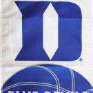"""Duke University (Blue Devils) - 13""""x18"""" 2-Sided Garden Banner"""