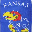 "University of Kansas (Jayhawks) - 13""x18"" 2-Sided Garden Banner"