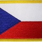 Czech Republic Rectangular Patch