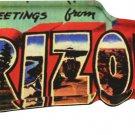 Arizona Acrylic Postcard Magnet