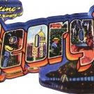Georgia Acrylic Postcard Magnet
