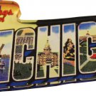 Michigan Acrylic Postcard Magnet