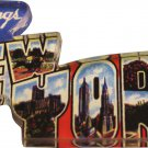 New York Acrylic Postcard Magnet