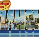 Oklahoma Acrylic Postcard Magnet