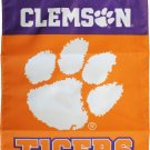 "Clemson University (Tigers) - 13""x18"" 2-Sided Garden Banner"