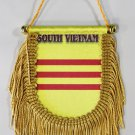 South Vietnam (Plain) Window Hanging Flag (Shield)
