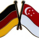Germany Singapore Friendship Pin