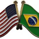 Brazil Friendship Pin