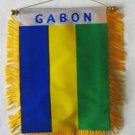 Gabon Window Hanging Flag
