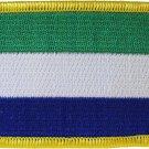 Sierra Leone Rectangular Patch