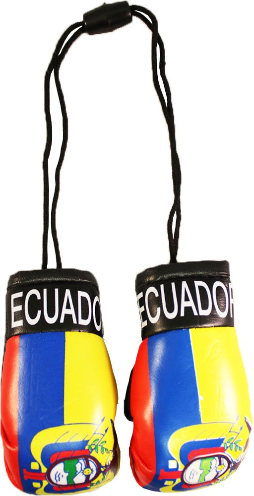 Ecuador Mini Boxing Gloves