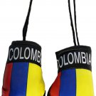 Colombia Mini Boxing Gloves