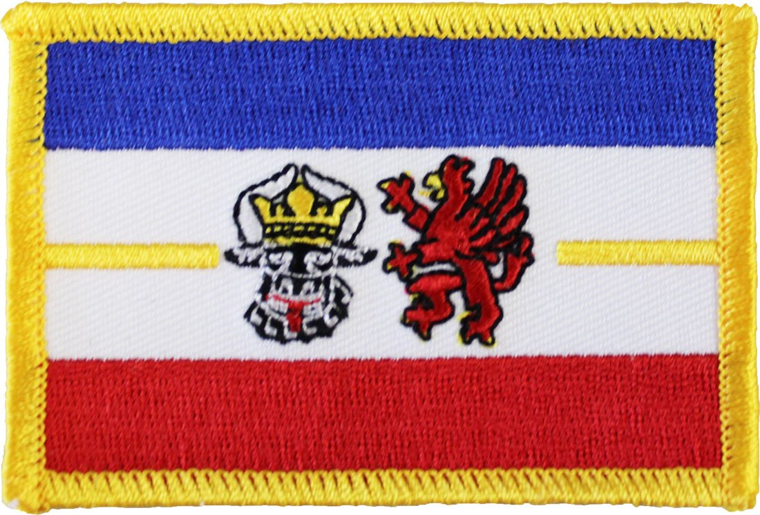 Mecklenburg-Pomerania Rectangular Patch