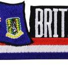 British Virgin Islands Cut-Out Patch