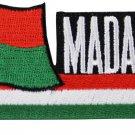Madagascar Cut-Out Patch