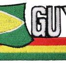 Guyana Cut-Out Patch