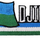Djibouti Cut-Out Patch