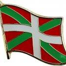 Basque Flag Lapel Pin