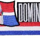 Dominican Republic Cut-Out Patch