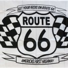 Route 66 (Get Your Kicks) - 3'X5'  Polyester Flag