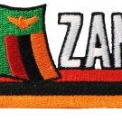 Zambia Cut-Out Patch