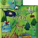 Utah Acrylic State Map Magnet