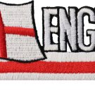 England (St. George) Cut-Out Patch
