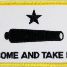 Come and Take It Rectangular Patch