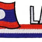 Laos Cut-Out Patch