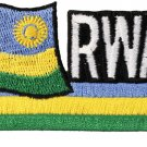 Rwanda Cut-Out Patch